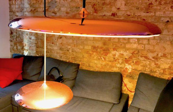 Lounge Couch BENSIMON Apartment House Opening Party Benjamin Barg Simon Pfau