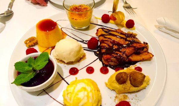 Opatija Restaurant Nuernberg City Unschlittplatz Bozidar Jug Horka Dessert Mascarpone Creme Bruelee
